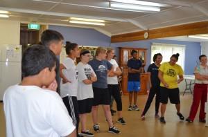 Dance practice Begins!
